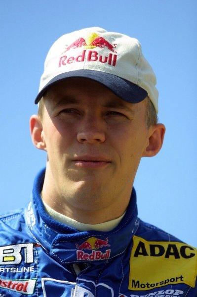 Mattias Ekstrom (SWE) finished 7th.German Touring Car Championship, Sachsenring, Germany, 2 June 2002DIGITAL IMAGE
