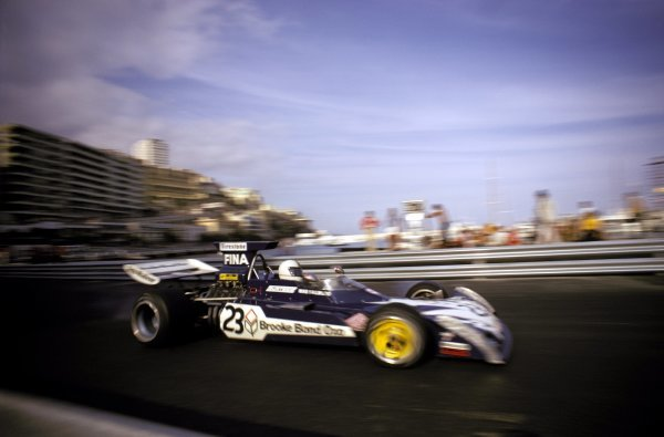 Mike Hailwood (GBR) Surtees TS14A finished eighth.Monaco Grand Prix, Monte Carlo, 3 June 1973.BEST IMAGE