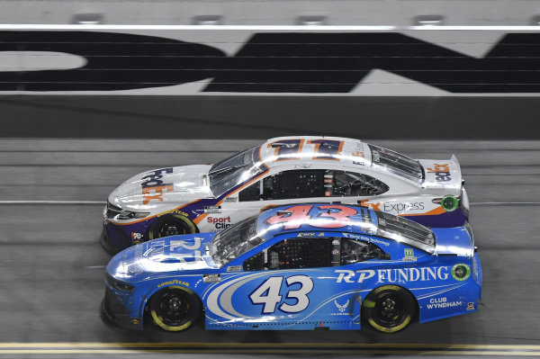 #43: Erik Jones, Richard Petty Motorsports, Chevrolet Camaro RP Funding