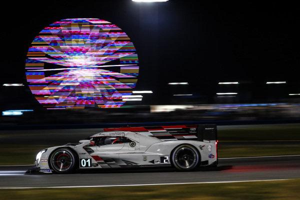 #01: Cadillac Chip Ganassi Racing Cadillac DPi , DPi: Renger van der Zande, Scott Dixon, Marcus Ericsson, Kevin Magnussen