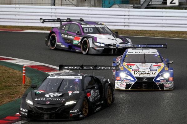 Tomoki Nojiri, ARTA Honda NSX-GT, Ryo Hirakawa, Lexus Team TOM'S Lexus LC500.