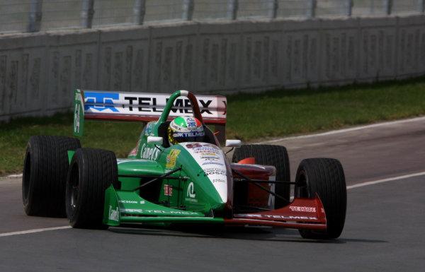 2001 Indy Lights Monterrey Mexico, 8-12 March, 2001, Fundidora Park, Monterrey, MexicoRolando Quintanilla-2001, Phil Abbott, USALAT Photographic