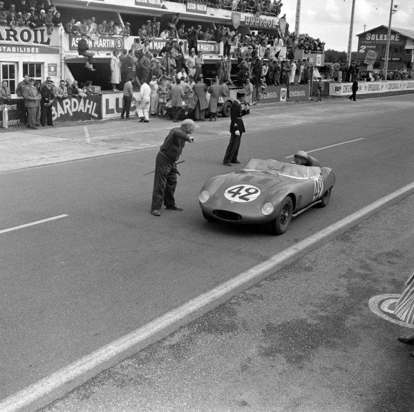 Alejandro de Tomaso / Colin Davis, Automobili OSCA, OSCA Sport 750 TN.