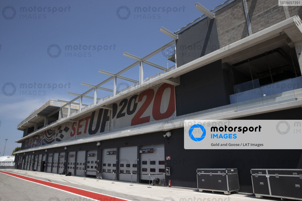 New garages, offices.