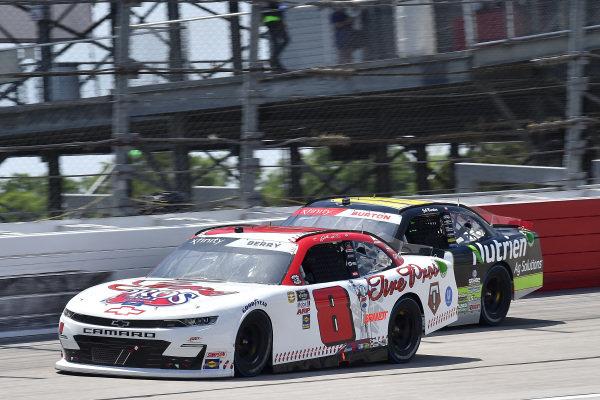 #8: Josh Berry, JR Motorsports, Chevrolet Camaro Tire Pros, #10: Jeb Burton, Kaulig Racing, Chevrolet Camaro Nutrien Ag Solutions