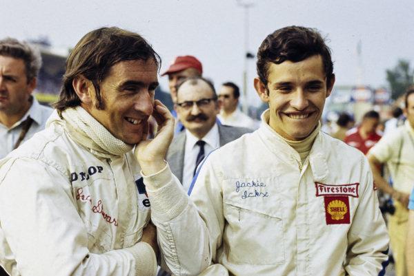Jackie Stewart and Jacky Ickx.