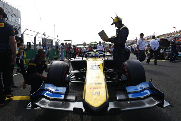 HUNGARORING, HUNGARY - AUGUST 03: Luca Ghiotto (ITA, UNI VIRTUOSI) during the Hungaroring at Hungaroring on August 03, 2019 in Hungaroring, Hungary. (Photo by Sam Bloxham / LAT Images / FIA F2 Championship)