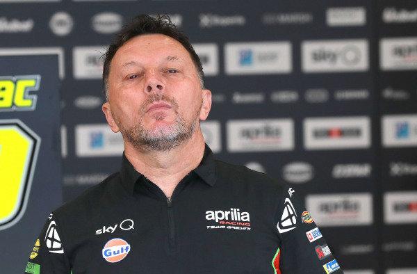 Fausto Gresini, Aprilia Racing Team Gresini.