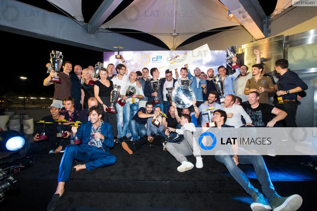 2016 GP2/3 Awards Evening. Yas Marina Circuit, Abu Dhabi, United Arab Emirates. Sunday 27 November 2016.  Photo: Sam Bloxham/GP2 Series Media Service/GP3 Series Media Service. ref: Digital Image _SLA9916