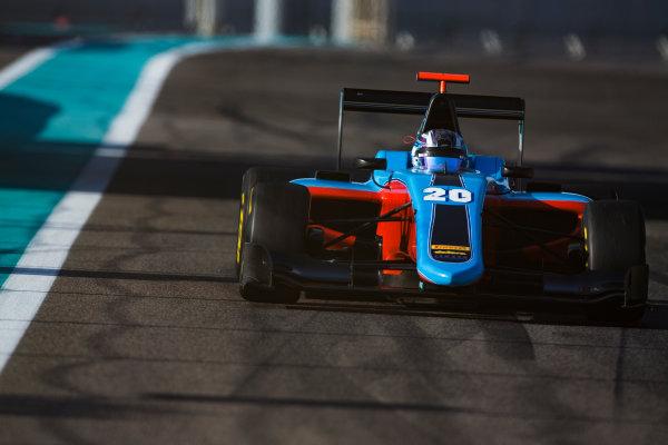 2016 GP3 Series Test 5. Yas Marina Circuit, Abu Dhabi, United Arab Emirates. Wednesday 30 November 2016. Marcos Siebert (SUI, Jenzer Motorsport)  Photo: Sam Bloxham/GP3 Series Media Service. ref: Digital Image _SLA1417