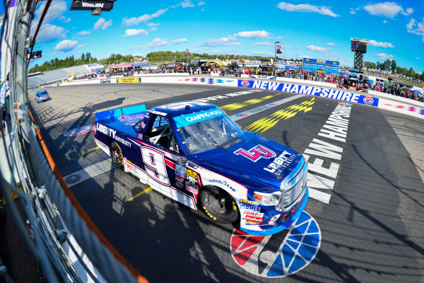 23-24 September, 2016, Loudon, New Hampshire USA William Byron takes the checkered flag ?2016, Logan Whitton  LAT Photo USA