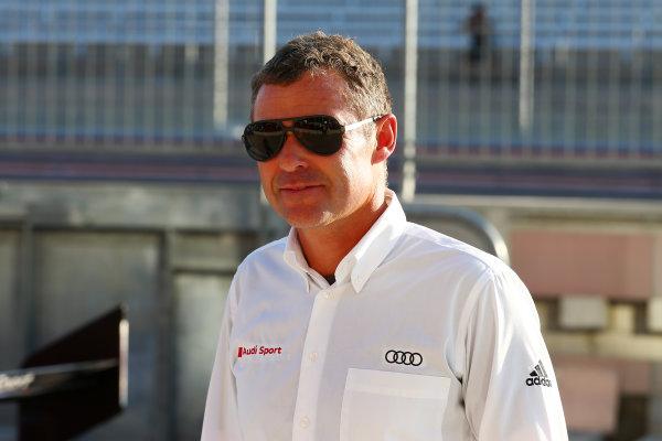 2016 FIA World Endurance Championship, COTA, Austin, Texas - 15th-17th September 2016, Tom Kristensen (DK) Audi  World Copyright. Jakob Ebrey/LAT Photographic.