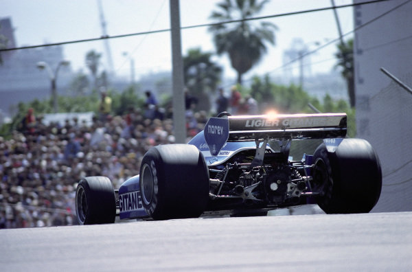 Jacques Laffite, Ligier JS7 Matra.