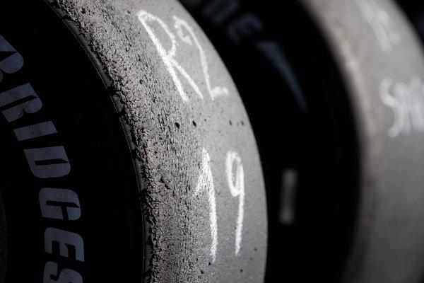 Sunday Race.Bridgestone tyres. Detail. World Copyright: Alastair Staley / GP2 Series Media Service.Ref: _O9T3807 jpg