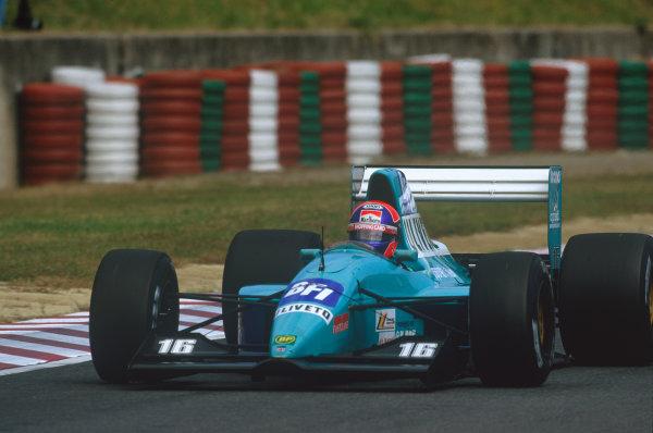 1992 Japanese Grand Prix. Suzuka, Japan. 23rd - 25th October 1992. Jan Lammers (March CG911-Ilmor), retired, action. World Copyright: LAT Photographic.