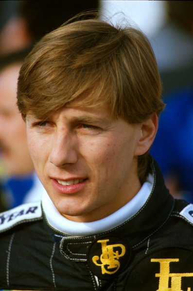 Johnny Dumfries(GBR) in 1986