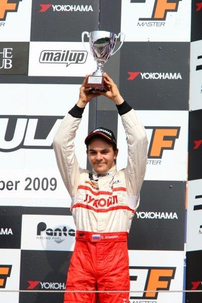 Sergey Afanasiev (RUS), JD Motorsport, finished third in race 2.International Formula Master, Rd8, Imola, San Marino, Italy, 20 September 2009.