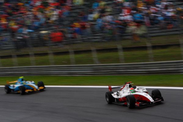 Autodromo di Monza, Monza, Italy 14th September.Sunday Race.  Sakon Yamamoto (JPN, ART Grand Prix). Action. World Copyright: Andrew Ferraro/GP2 Series Media Service. ref: Digital Image _H0Y1831