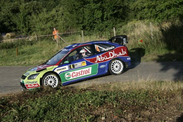 Round 10Rally Deutschland 200814th-17th August 2008Jarri-Matti Latvala, Ford, actionWorldwide Copyright: McKlein/LAT