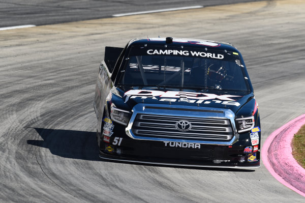 NASCAR Camping World Truck Series Texas Roadhouse 200 Martinsville Speedway, Martinsville VA USA Friday 27 October 2017 Harrison Burton, DEX Imaging Toyota Tundra World Copyright: John K Harrelson/LAT Images