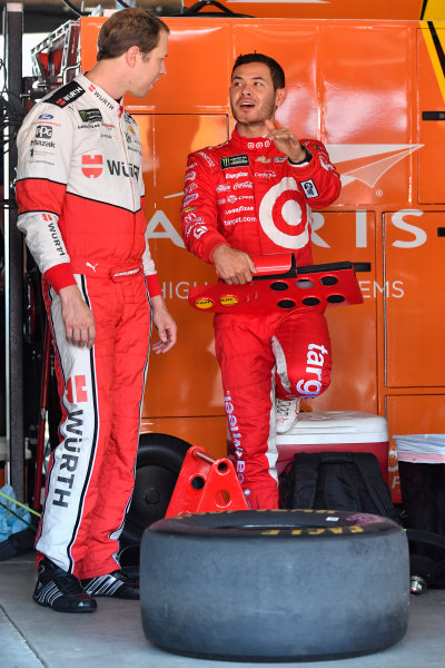 Monster Energy NASCAR Cup Series AAA 400 Drive for Autism Dover International Speedway, Dover, DE USA Friday 2 June 2017 Brad Keselowski, Team Penske, Wurth Ford Fusion, Kyle Larson, Chip Ganassi Racing, Target Chevrolet SS World Copyright: Logan Whitton LAT Images ref: Digital Image 17DOV1LW1491