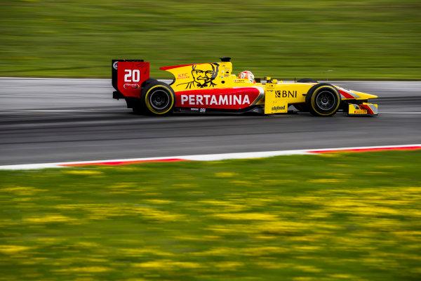 2017 FIA Formula 2 Round 5. Red Bull Ring, Spielberg, Austria. Friday 7 July 2017. Norman Nato (FRA, Pertamina Arden).  Photo: Zak Mauger/FIA Formula 2. ref: Digital Image _54I6540