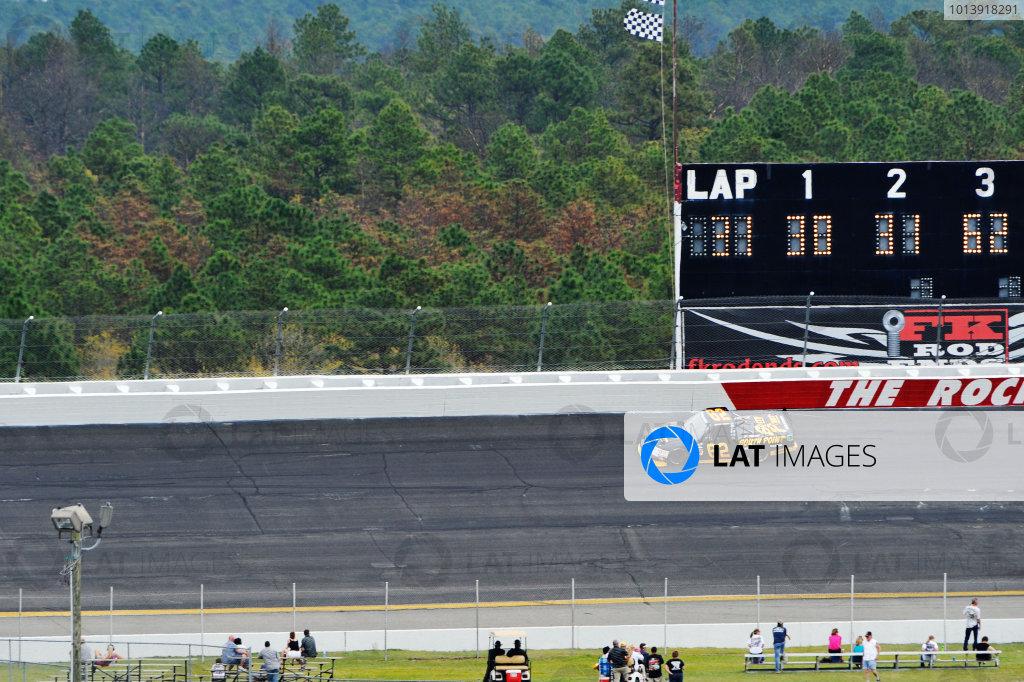 13-14 April, 2013, Rockingham, North Carolina USA Brendan Gaughan ©2013, Scott R LePage LAT Photo USA