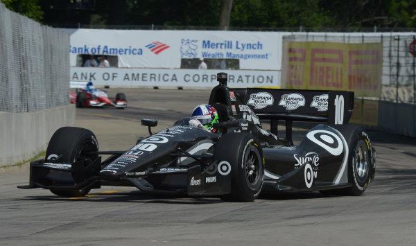 1-3 June, 2012, Detroit, Michigan, USADario Franchitti, #10 Target  Racing Honda(c)2012 Dan R. Boyd LAT Photo USA