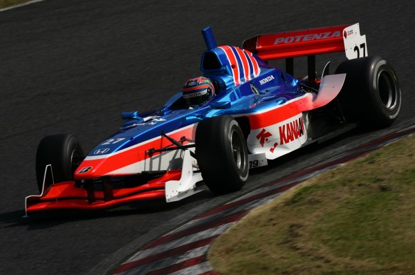 2007 Formula Nippon ChampionshipSuzuka Circuit, Japan17th - 18th November 2007Tony Kanaan (Kanaan Racing). 6th position. Action.World Copyright: Yasushi Ishihara/LAT Photographicref: Digital Image 2007FN_R9_021