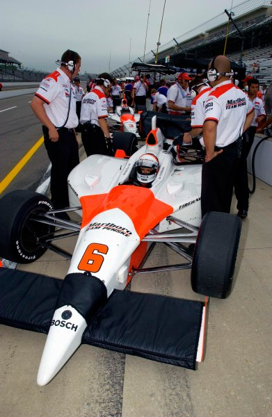 Pole Weekend for the 87th Indianapolis 500, Indianapolis Motor Speedway, Speedway, Indiana, USA 25 May,2003