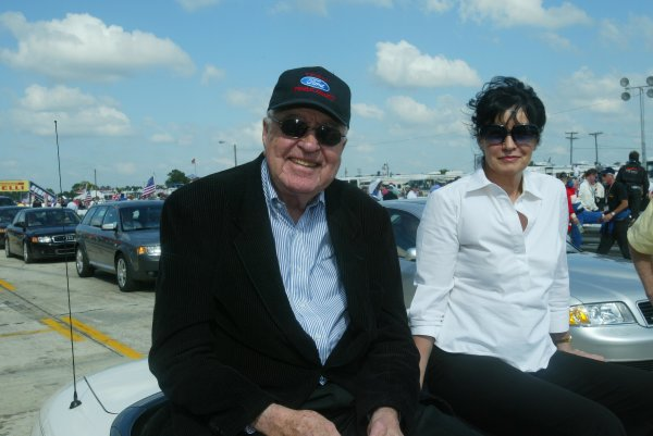 17-20 March 2004, Sebring, Florida, USA Carroll Shelby. Copyright 2004, Richard Dole, USA LAT PHOTOGRAPHIC