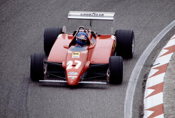 1982 Dutch Grand Prix.Zandvoort, Holland.1-3 July 1982.Patrick Tambay (Ferrari 126C2) 8th position.Ref-82 HOL 72.World Copyright - LAT Photographic