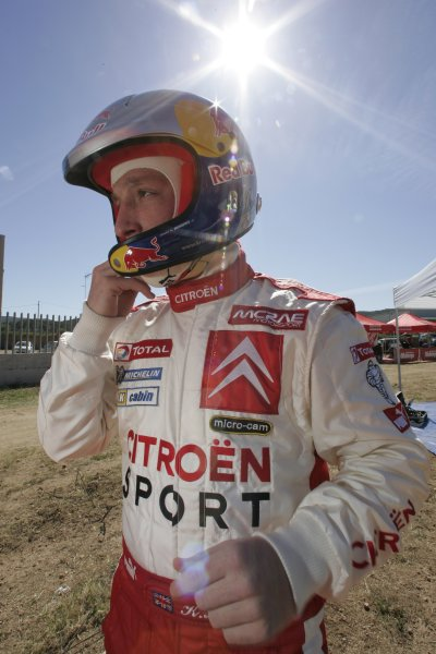 2005 FIA World Rally Championship  Round 5, Rally of Italy, Sardinia. 29th - 1st May April 2005. Chris Meeke, portrait. World Copyright: Mcklein/LAT Photographic Ref: Digital Image Only.