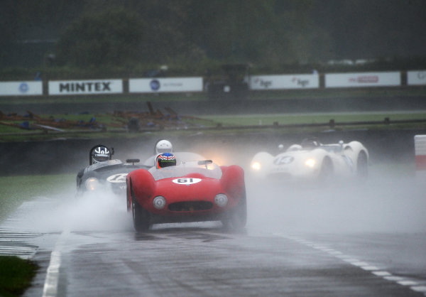 2017 Goodwood Revival, Goodwood Estate, West Sussex, England.  8th-10th September 2017 Sussex Trophy  World Copyright: Jeff Bloxham/LAT Images, Ref: Digital Image
