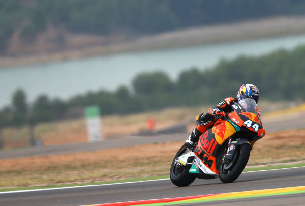 2017 Moto2 Championship - Round 14 Aragon, Spain. Friday 22 September 2017 Miguel Oliveira, Red Bull KTM Ajo World Copyright: Gold and Goose / LAT Images ref: Digital Image 693616