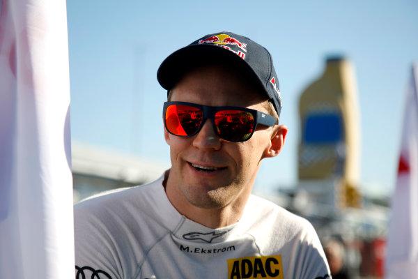 2017 DTM Round 9  Hockenheimring, Germany  Sunday 15 October 2017. Mattias Ekström, Audi Sport Team Abt Sportsline, Audi A5 DTM  World Copyright: Alexander Trienitz/LAT Images ref: Digital Image 2017-DTM-HH2-AT1-0684