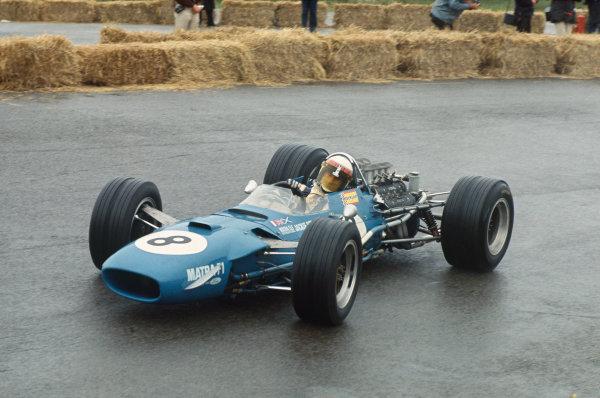 Zandvoort, Holland. 21-23 June 1968.  Jackie Stewart (Matra MS10 Ford) 1st position.  Ref: 68HOL02. World Copyright: LAT Photographic
