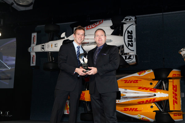 6 December, 2012, Indianapolis, Indiana, USA Star Mazda Champ Jack Hawksworth.(c) 2012, Russ Labounty LAT Photo USA