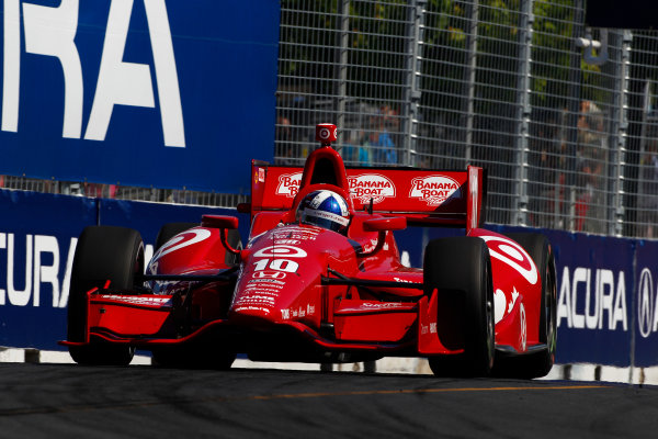 14 July, 2013,  Toronto, Ontario, CAN Dario Franchitti ©2013, Phillip Abbott LAT Photo USA