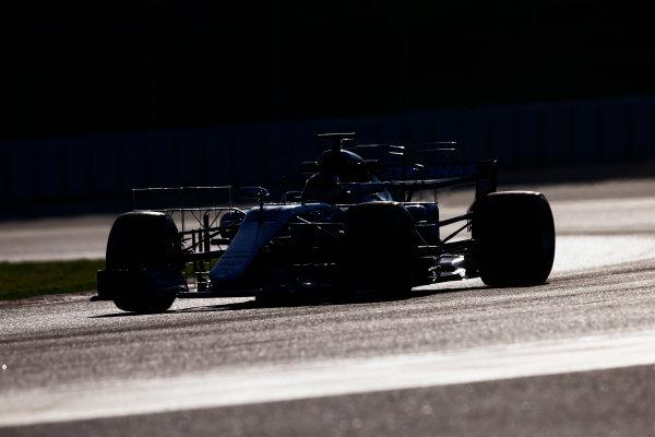 Circuit de Barcelona Catalunya, Barcelona, Spain. Tuesday 07 March 2017. Lewis Hamilton, Mercedes F1 W08 EQ Power+. World Copyright: Zak Mauger/LAT Images ref: Digital Image _X0W5919