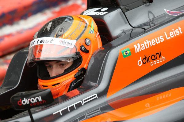 2016 BRDC Formula Three Championship, 11th-12th June 2016, SIlverstone, UK, Matheus Leist (BRA) Double R Racing BRDC F3  World copyright. Ebrey/LAT Photographic