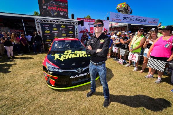 5-7 August, 2016, Watkins Glen, New York USA Furniture Row Racing, Erik Jones press car unveil ?2016, Logan Whitton  LAT Photo USA