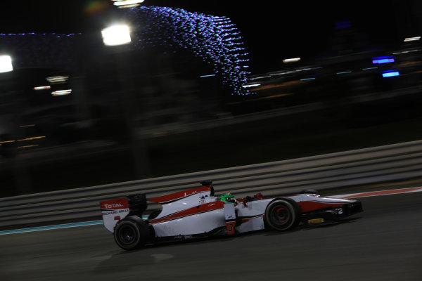 2013 GP2 Series Test 3 Yas Marina Circuit, Abu Dhabi, UAE. Day 3, Thursday 7th November 2013. Conor Daly (USA , ART Grand Prix)  World Copyright: Sam Bloxham/LAT Photographic. ref: Digital Image IMG_5897