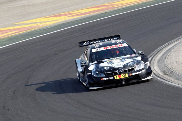 2014 DTM Testing. Hungaroring, Hungary. 31st March 2014. Gary Paffett (GBR) Mercedes AMG DTM-Team HWA World Copyright: XPB / LAT Photographic. Ref: 3030984_HiRes.jpg