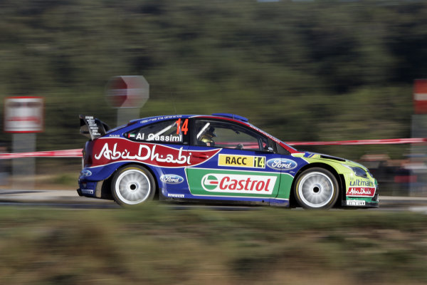 Round 11 Rally Catalunya 01-04 October 2009Khalid AlQassimi, Ford, ActionWorldwide Copyright: McKlein/LAT