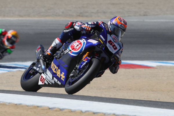 2017 Superbike World Championship - Round 8 Laguna Seca, USA. Friday 7 July 2017 Michael van der Mark, Pata Yamaha World Copyright: Gold and Goose/LAT Images ref: Digital Image 682937