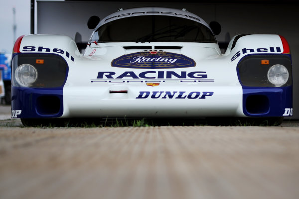 2017 Goodwood Festival of Speed. Goodwood Estate, West Sussex, England. 30th June - 2nd July 2017. Porsche 956 World Copyright : JEP/LAT Images
