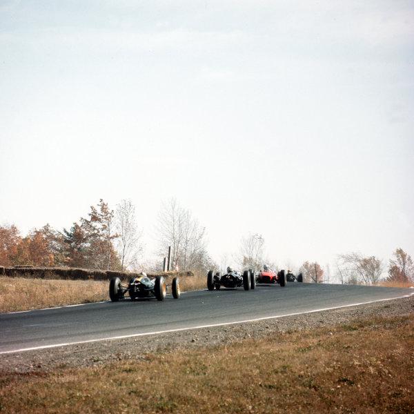 Watkins Glen, New York, USA.4-6 October 1963.The start.Ref-3/1100.World Copyright - LAT Photographic