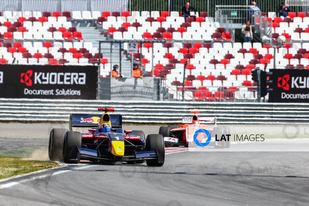 MOSCOW (RUS) JUN 27-29 2014 - World series by Renault 2014 at the Moscow Raceway. Carlos Sainz jr. #1 Dams. Action. © 2014 Diederik van der Laan  / Dutch Photo Agency / LAT Photographic