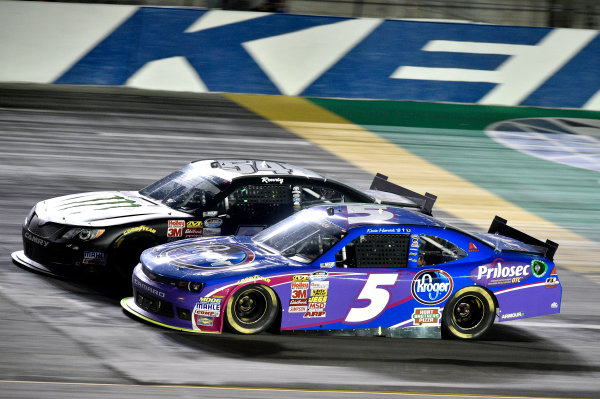 26-27 June, 2014, Sparta, Kentucky USA Kevin Harvick and Kyle Busch, Monster Energy Toyota Camry ?2014, Nigel Kinrade LAT Photo USA